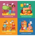 Family Concept Set vector image vector image
