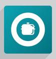 flat pan icon vector image