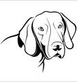 German Shorthaired Pointer vector image vector image