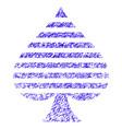 peaks suit icon grunge watermark vector image