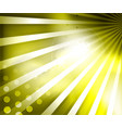 shiny sunny flares abstract background bright vector image vector image