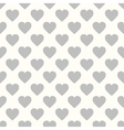 A pattern of hearts vector image vector image