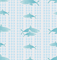 Background with sharks vector image