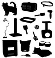 cat accessories vector image