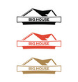 house-logo vector image vector image