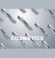 modern trendy cover designposter for cosmetic vector image