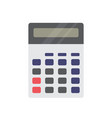 office calculator on white background for graphic vector image