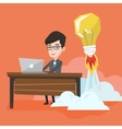 Successful business idea vector image vector image
