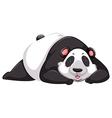 Tired panda bear