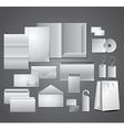corporate set vector image