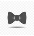 bow tie icon design concept vector image vector image