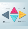 business infographic elements background vector image vector image
