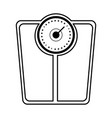 fitness and health icon concept vector image vector image