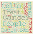 Cancer in Teens text background wordcloud concept vector image vector image