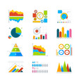 modern elements for infographics vector image vector image