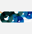 modern geometrical abstract background vector image vector image