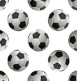 Soccer football Seamless pattern vector image vector image