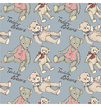 Teddy pattern blue