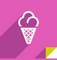 icon on square sticker vector image vector image