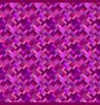 purple geometric diagonal rectangle mosaic vector image vector image