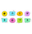 seo file electric plug and spanner icons set vector image vector image