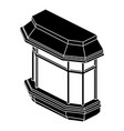 window balcony icon simple style vector image vector image