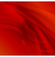 Abstract smooth lines red background vector image vector image