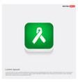 aids awareness ribbon sign or icon vector image vector image