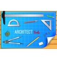 Architectural background eps10 contains vector image vector image