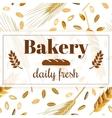 bakery banner vintage