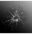 Broken Window Pane vector image vector image