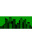 city and flag of saxony vector image vector image