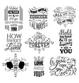 collection quote typographical background with vector image vector image