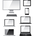 devices set vector image vector image