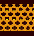 halloween abstract seamless pattern vector image