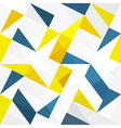 seamless abstract triangles vector image vector image