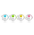 share group and skin care icons touchpoint sign vector image