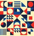 geometric modern seamless pattern vector image vector image