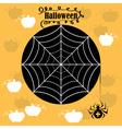 Halloween cobwebs vector image vector image
