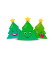 merry christmas and happy new year composition vector image vector image