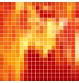 red tile background vector image vector image