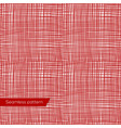 seamless texture red canvas vector image vector image