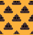 feces seamless pattern vector image