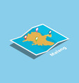 Malang indonesia java explore maps with isometric