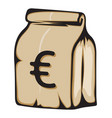 money bag vector image vector image