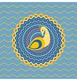 Ornamental Peacock vector image vector image