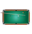 Pool Table Billiards vector image vector image