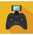 remote control drone isolated icon design vector image