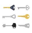 Set of keys for locks and doors
