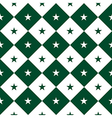 Star Green White Chess Board Diamond Background vector image vector image